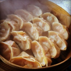 Steamy pork dumplings